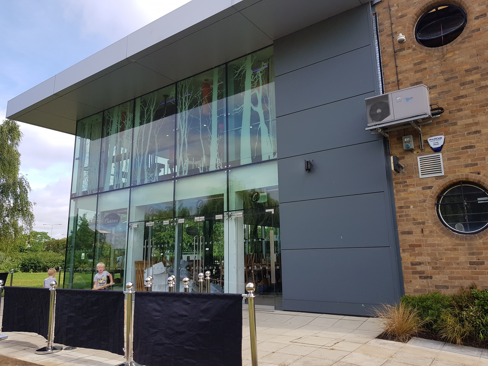 Commercial security alarm installation at the Key Theatre
