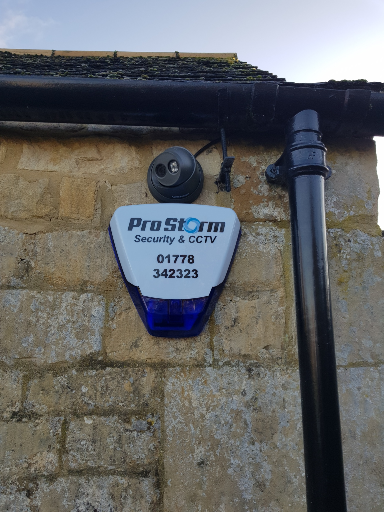Pro Storm security & CCTV - domestic alarm box