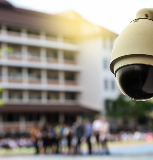 CCTV School Building