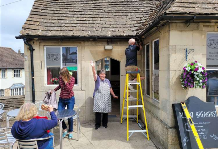 CCTV installed for local business to deter vandalism